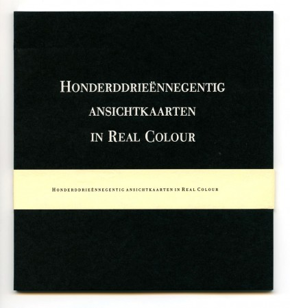 Honderddrieeennegentig ansichtkaarten in Real Color