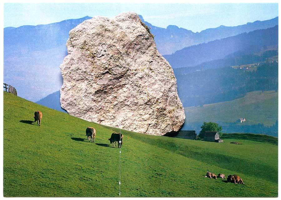 postcard swiss meadow