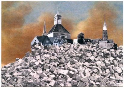 postcard Durgerdammer Dijk