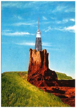 postcard Durgerdam vuurtoreneiland