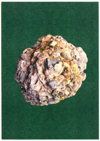 postcard swiss stone nagelfluh